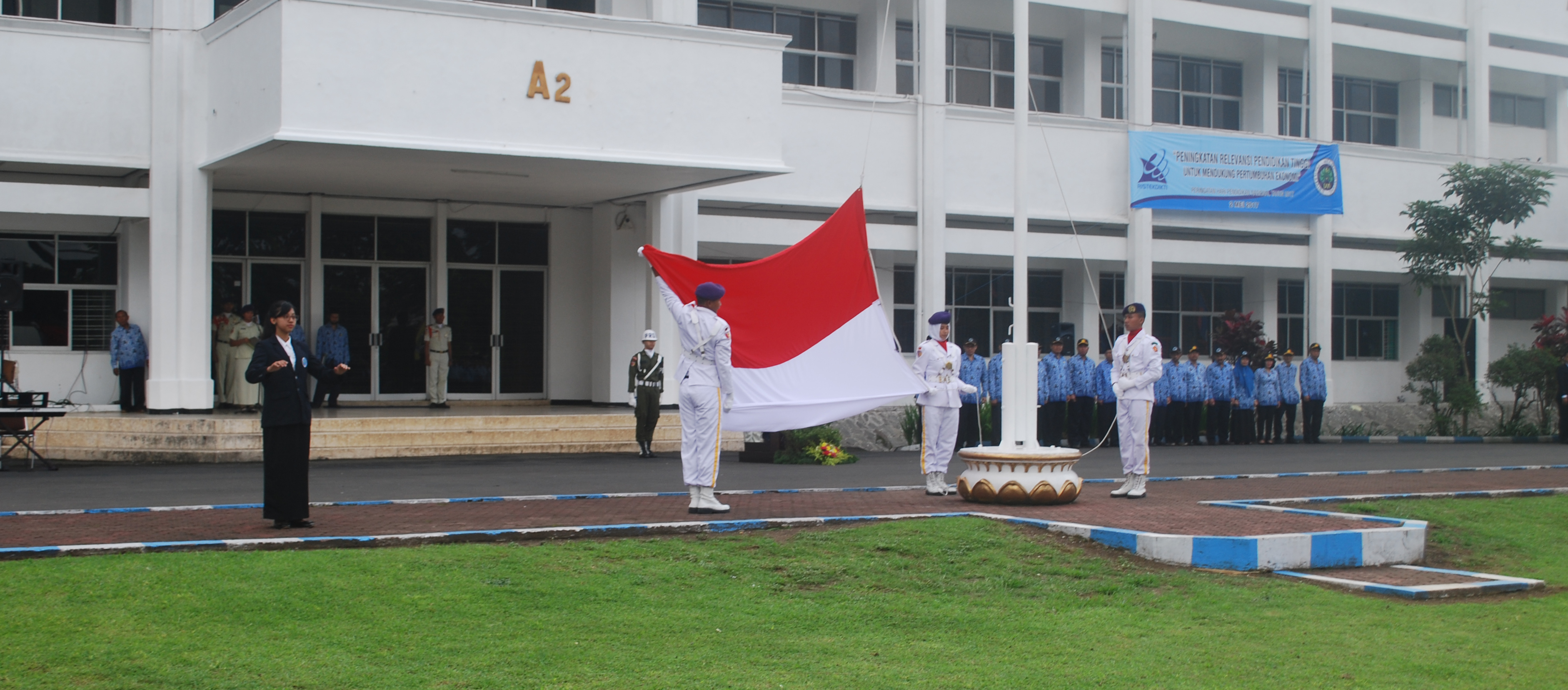 Upacara HARDIKNAS Universitas Negeri Malang (UM) Tahun 2017